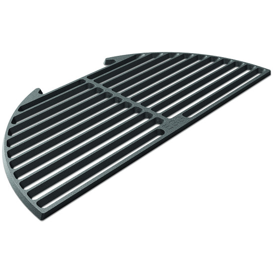 Half Cast Iron Dual Side Grid for Large Egg