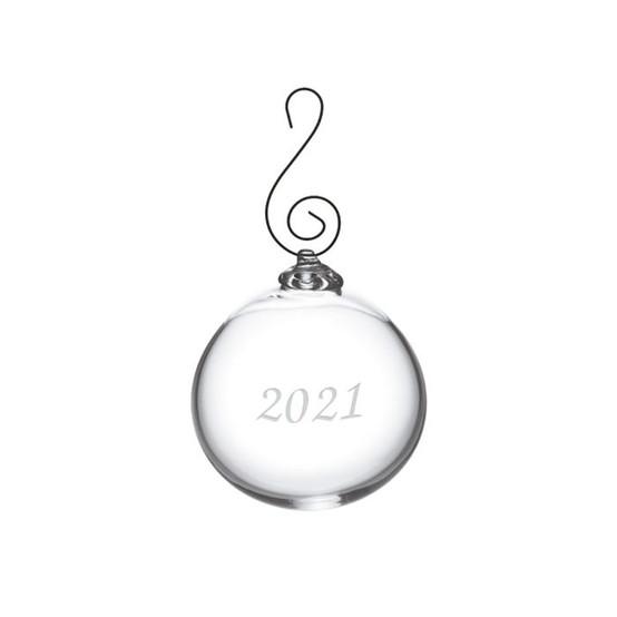 Annual Round Ornament