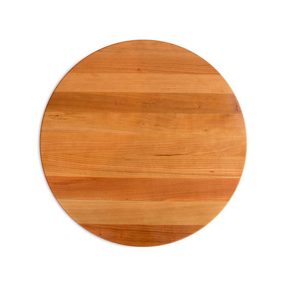 18 In Round Cutting Board in Cherry