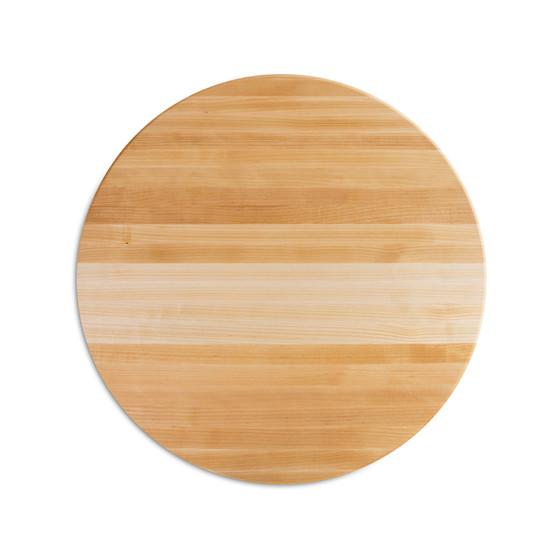 18 In Round Cutting Board in Maple