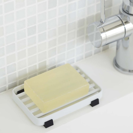 Tower Soap Tray in White