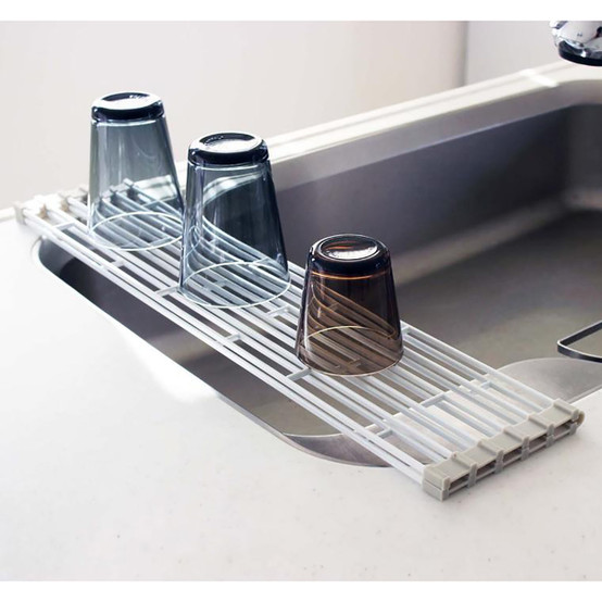 Plate Over the Sink Folding Drying Rack