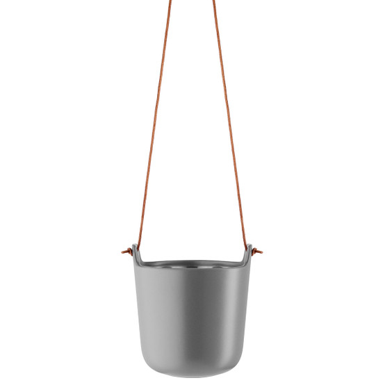 Hanging Self-Watering Pot in Nordic Grey
