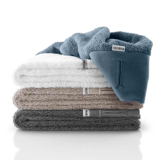 Hand Towel in Steel Blue
