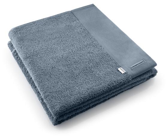 Bath Towel in Steel Blue