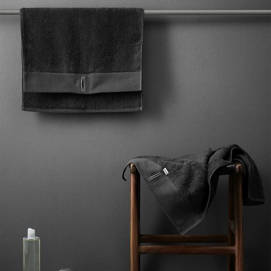 Bath Towel in Dark Grey