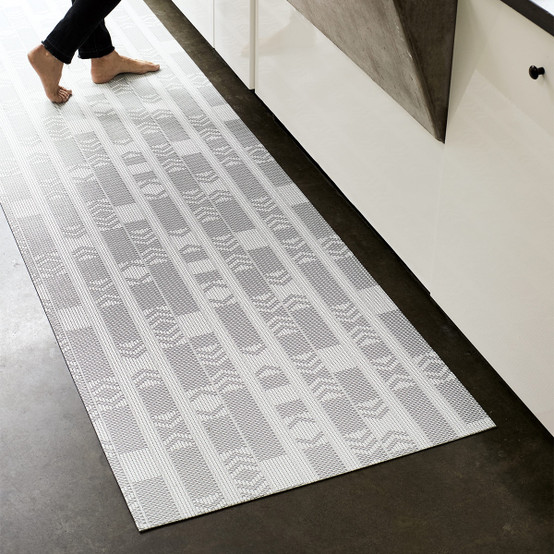 Chilewich Scout Floor Mat In Graphite