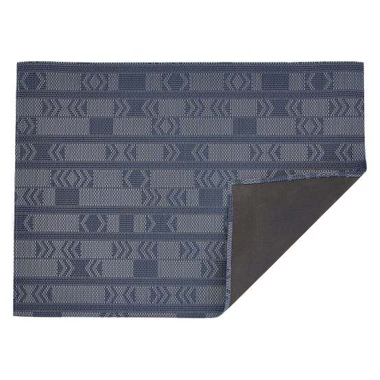 Chilewich Scout Floor Mat In Midnight