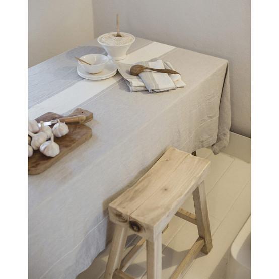 Atelier Stripe Tablecloth