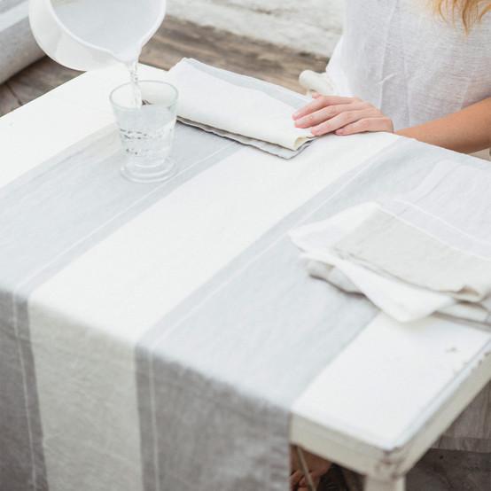Atelier Stripe Table Runner