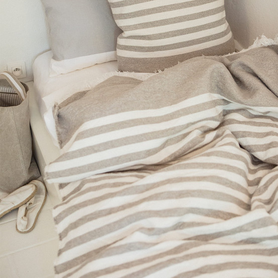 Camille Throw in Stripe