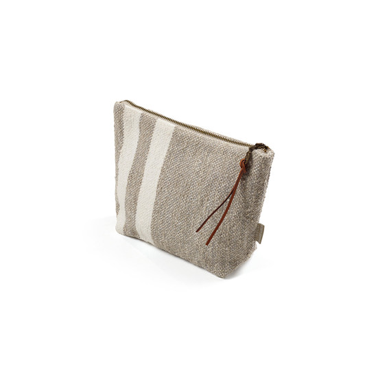Charlotte Pouch in Multi Stripe