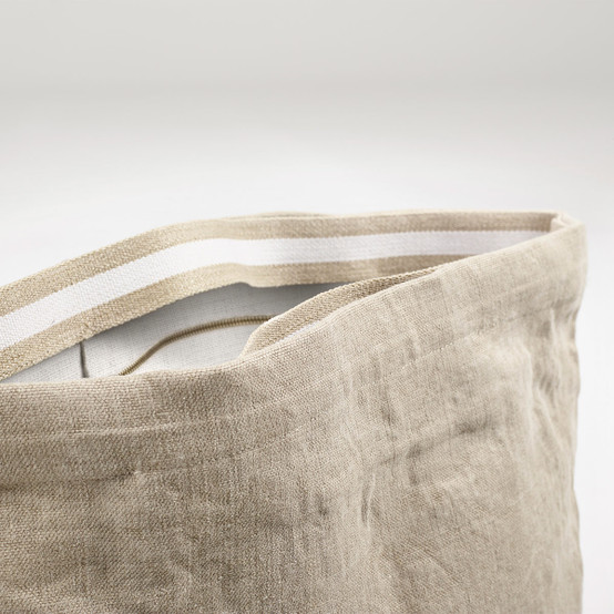 Charly Tote in Flax