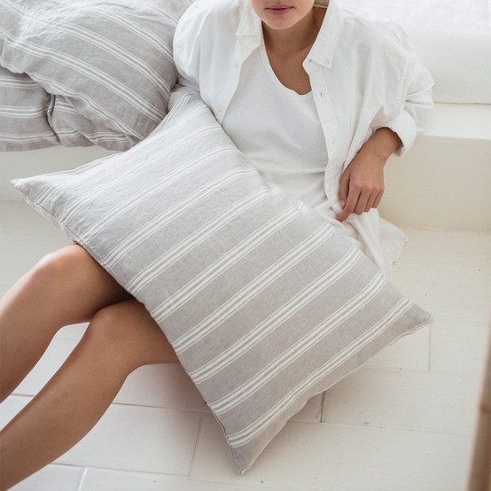 Guest House Stripe Pillow Case in King