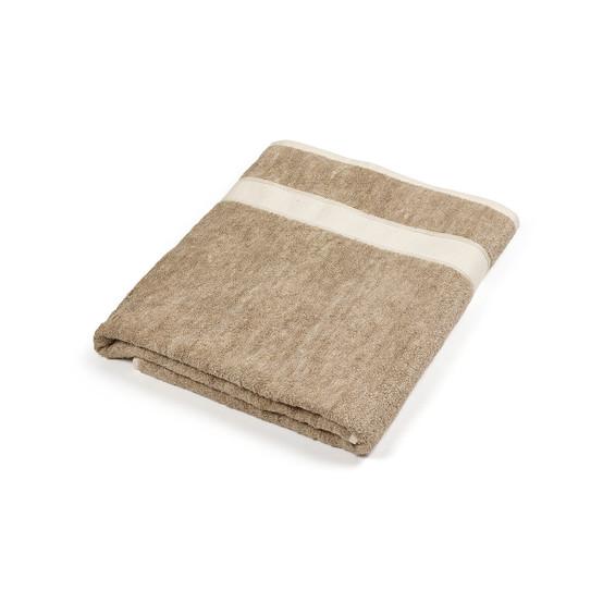 Simi Bath Sheet in Flax