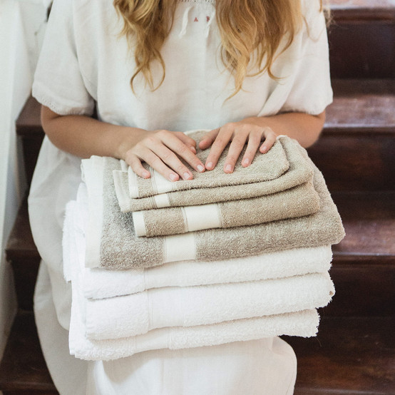 Simi Bath Towel in Flax
