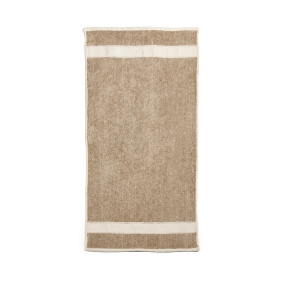 Simi Bath Terry Towel in Flax