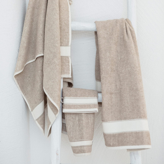 Simi Guest towel in Flax