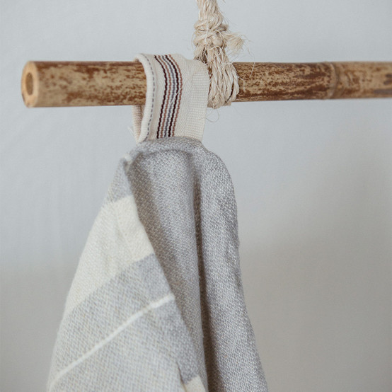 The Belgian Towel Small Fouta in Gent Stripe