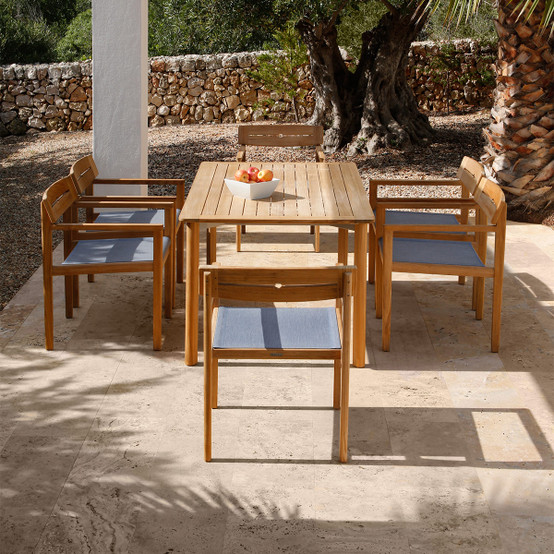 Atom Teak Dining Table 59 inches