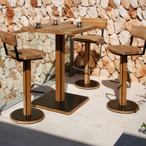 Titan Pub High Dining Swivel Stool
