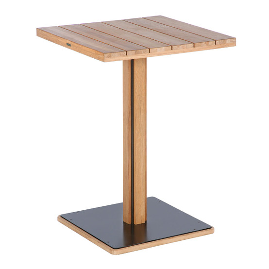 Titan Square Pub High Dining Table