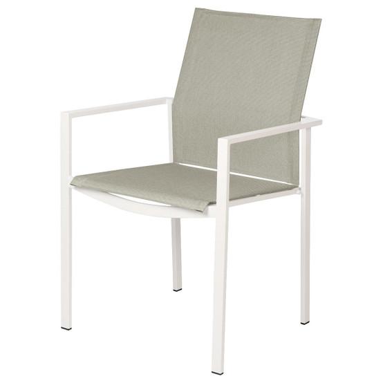 Mercury Armchair in White