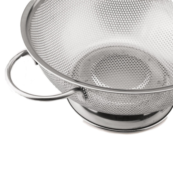 Stainless Steel Perforated Colander, Large