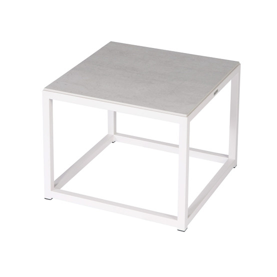 Equinox Painted 20 inch Low Table in White