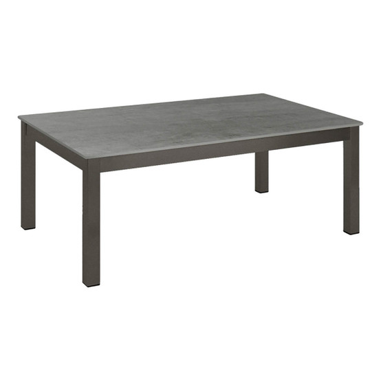 "Equinox Painted 39"" Low Table in Graphite"