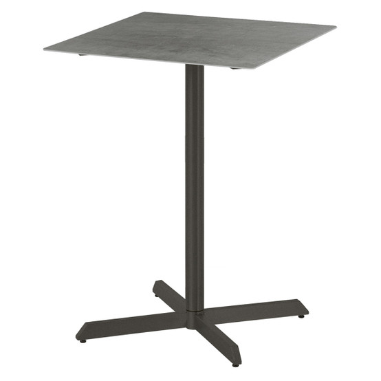 Equinox Ceramic Top Pub High Dining Table in Graphite