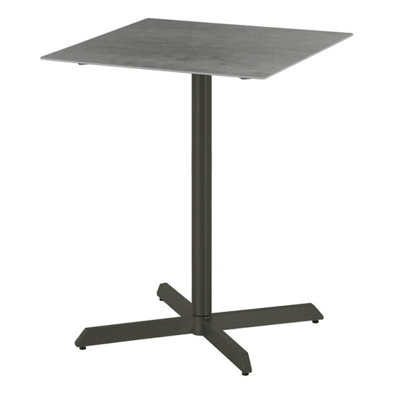 Equinox Ceramic Top Counter Height Dining Table in Graphite