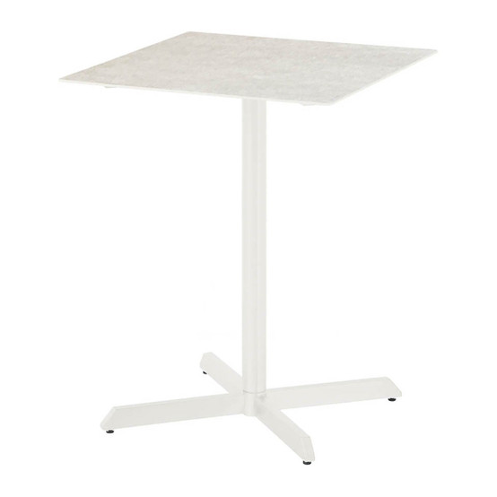 Equinox Ceramic Top Counter Height Dining Table in White