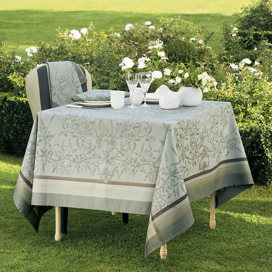 Persephone Green Sweet Tablecloth in Olive