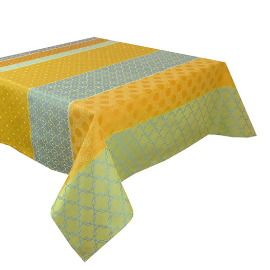 Mille Claustras Corsica Coated Tablecloth 59 x 87