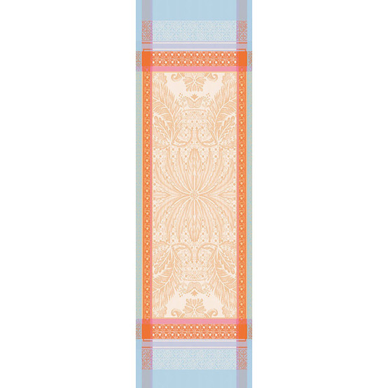 Isaphire Iridescent Green Sweet Table Runner 21 x 71