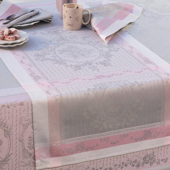 Lysandra Rose Green Sweet Table Runner 22 x 59