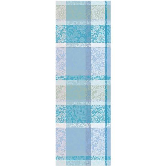 Mille Dentelles Turquoise Table Runner 22 x 71