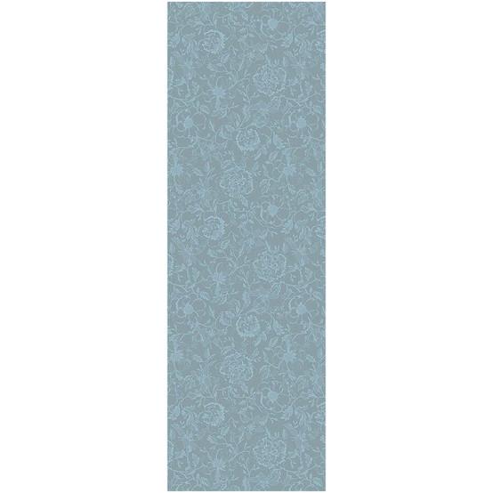 Mille Charmes Bleu Louis XVI Table Runner 22 x 71