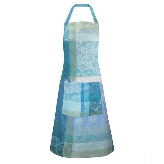 Mille Dentelles Turquoise Coated Apron