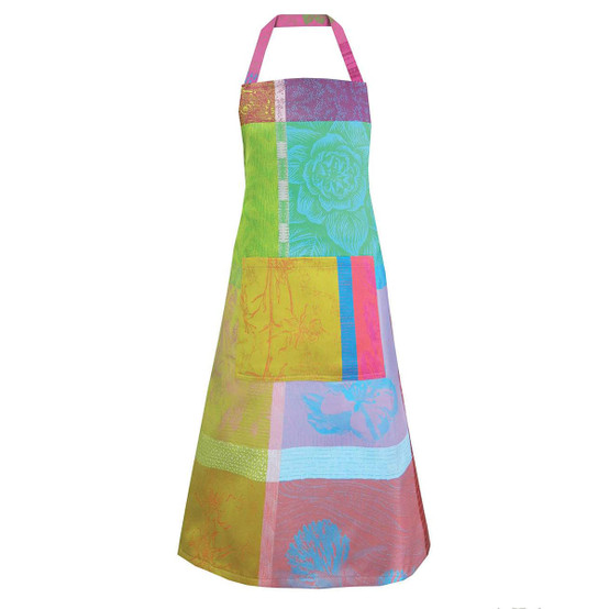 Mille Gardenias Coated Apron in Bourgeons