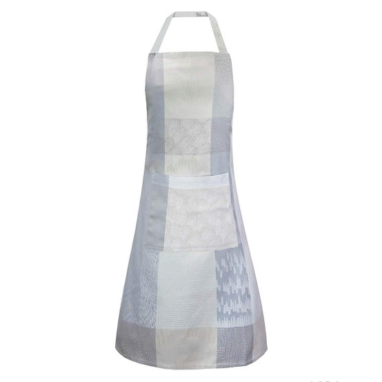 Mille Matieres Vapeur Coated Apron in Vapeur