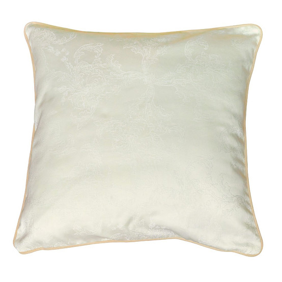 Mille Eternel 20 x 20 Cushion Cover in Albatre