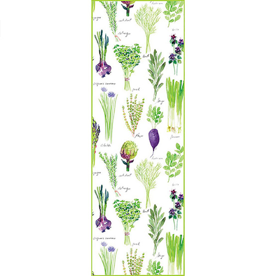 Mille Potager Table Runner in Printemps