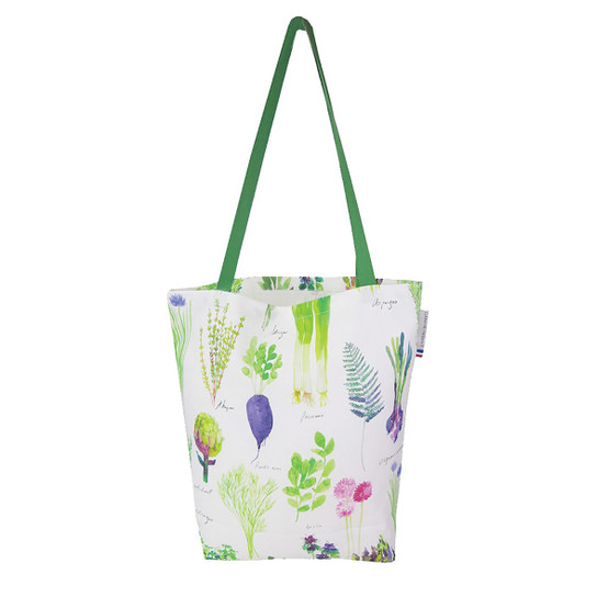 Mille Potager Tote bag in Printemps
