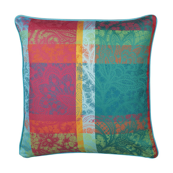 Mille Dentelles Floralies Cushion Cover 16 x 16