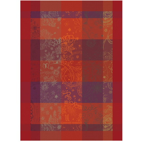 Mille Couleurs Flamboyant Kitchen Towel