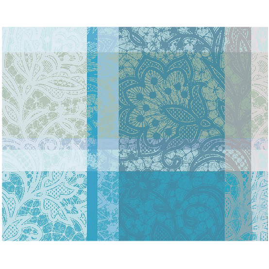 Mille Dentelles Turquoise Coated Placemat 16 x 20