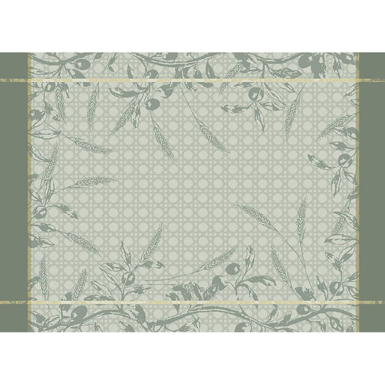 Persephone Green Sweet Placemat in Olive