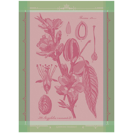 Fleurs D'Amandier Rose Kitchen Towel